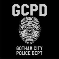 Gcpd Womens Hoodie Black (Large) - Cover