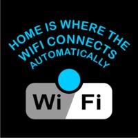 Wifi Mens T-Shirt Black (X-Large) - Cover