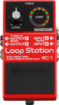 Boss RC-1 Loop Station Effects Pedal (Red)