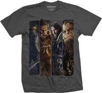 Warcraft Character Slice Mens T-Shirt (X-Large) - Cover