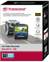 Transcend DrivePro 100 Car Video Recorder (Includes Suction Mount and Free 16GB microSD Card)