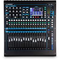 Allen & Heath QU-16C QU Series 16 Channel Digital Mixer (Chrome Version)