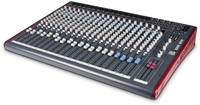 Allen & Heath ZED-24 ZED Series 24 Channel USB Mixer for Live and Studio Recording (Blue) - Cover