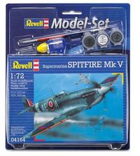 Revell - 1/72 - Spitfire Mk V (Plastic Model Set) - Cover