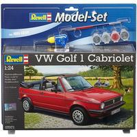 Revell - 1:24 - VW Golf 1 Cabrio Model Set (Plastic Model Kit)