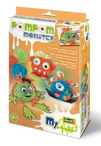 Revell - My Arts Pompom Monster - Cover