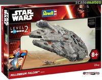 Revell - 1/72 - Star Wars - The Force Awakens Millennium Falcon EasyKit (Plastic Model Kit) - Cover