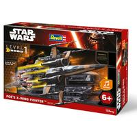 Revell - Star Wars Poe's X-Wing Fighter With Sound 1:78 (Plastic Model Kit)