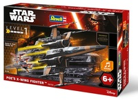 Revell - Star Wars Poe's X-Wing Fighter With Sound 1/78 (Plastic Model Kit) - Cover