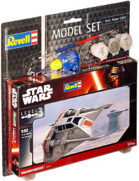 Revell - 1/52 - Star Wars - Snowspeeder (Plastic Model Set) - Cover