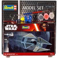 Revell - 1/90 - Star Wars - TIE Interceptor (Plastic Model Set)