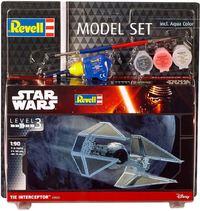 Revell - 1/90 - Star Wars - TIE Interceptor (Plastic Model Set) - Cover