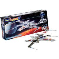 Revell - 1/57 - Star Wars - X-Wing Fighter Luke Skywalker Easykit (Plastic Model Kit)