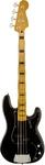 Squier Classic Vibe Precision Bass '70s Electric Bass Guitar (Black)