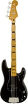 Squier Classic Vibe Precision Bass '70s Electric Bass Guitar (Black)