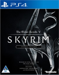 The Elder Scrolls V: Skyrim - Special Edition (PS4) - Cover