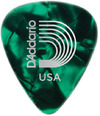 Planet Waves 1CGP6 Classic Celluoid Heavy Pick (Green Pearl)