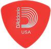 Planet Waves 2DRD1 Duralin Wide .50mm Supler Light Pick (Red)