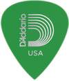 Planet Waves 6DGN4 Duralin Precision .85mm Medium Pick (Green)