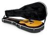 Gator GC-DREAD Molded ABS Dreadnought Acoustic Guitar Case (Black)