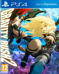 Gravity Rush 2 (PS4) - Cover