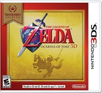 Legend of Zelda: Ocarina of Time 3D (US Import 3DS) - Cover