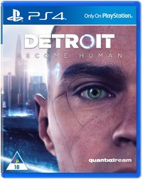 Detroit: Become Human (PS4) - Cover