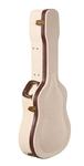 Gator GW-JM DREAD Journey Man Wooden Deluxe Dreadnaught Acoustic Guitar Case (Cream)