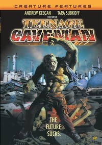 Teenage Caveman (Region 1 DVD) - Cover