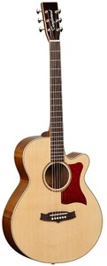 Tanglewood Sundance Elegance Super Folk Acoustic Electric Guitar (Natural Gloss)