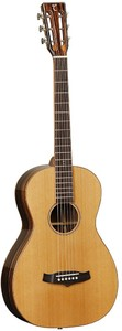 Tanglewood TWJP E Java Series Parlour Acoustic Electric Guitar (Natural Gloss)