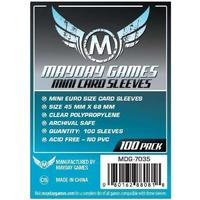 Mayday Games - Mini Euro Card Sleeves (100 Sleeves)