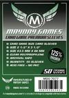 Trading Card Game Sleeves Dark Green Pack of 50 Sleeves