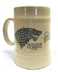 Game of Thrones - House Stark Ceramic Beer Stein - Cover