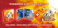 Pokémon Sun (3DS) - Cover
