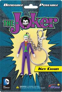 The Joker Bendable Keychain - Cover
