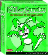 Killer Bunnies and the Quest for the Magic Carrot GREEN Booster - Cover