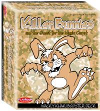 Killer Bunnies and the Quest for the Magic Carrot Wacky KHAKI Booster - Cover