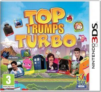 Top Trumps Turbo (3DS) - Video Games Online | Raru
