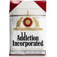 Addiction Incorporated (Region 1 DVD) - Cover