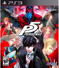 Persona 5 (US Import PS3) - Cover
