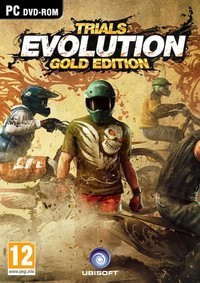 Trials Evolution: Gold Edition Steelbook (PC) - Cover