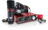 Focusrite Scarlett 2i2 Studio Package (Including Headphones & Microphone)