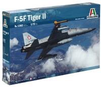Italeri - 1/72 F-5 F Tiger II Twin Seater (Plastic Model Kit) - Cover