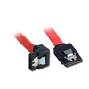 Lindy 0.5m SATA Cable 90 Degree Latch Type Cover