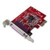 Lindy 1-Port Parallel LP PCI Expressress Card
