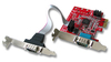 Lindy 2-Port Serial Low Profile PCI Express