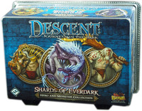 Descent: Journeys in the Dark (Second Edition) - Hero and Monster Collection: Shards of Everdark (Board Game) - Cover