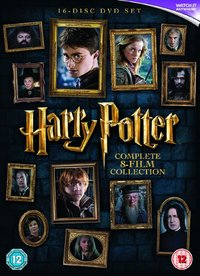 Harry Potter: The Complete 8 Film Collection (DVD) - Cover