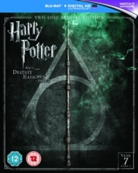 Harry Potter and the Deathly Hallows: Part 2 (Blu-ray) - Cover